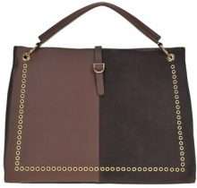 Borsa tote in ecopelle ed ecosuede
