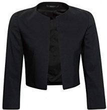 ESPRIT Collection 998eo1g800, Blazer Donna, Nero (Black 001), 40 (Taglia Produttore: 34)