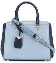 - Michael Michael Kors - Benning tote bag - women - pelle di vitello - Taglia Unica - di colore blu