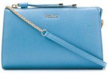 Furla - Luna clutch bag - women - Leather - OS - BLUE