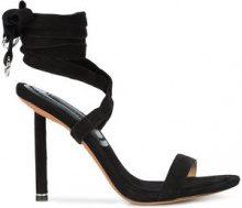Alexander Wang - strappy sandals - women - Calf Suede - 36.5, 39, 40, 36, 38, 41 - Nero