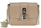 Patrizia Pepe Lock Fly Mini Bag borsa a tracolla pelle 17 cm