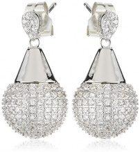 Orphelia dreambase-orecchini da donna in argento Sterling 925 con zirconi bianco ZO-5938