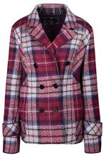Marc Cain Sports HS 31.71 J22, Cappotto Donna, (Dahlia 263), 40 (N1/40)