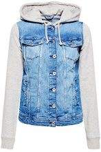 edc by Esprit 028cc1g002, Giacca in Jeans Donna, Blu (Blue Medium Wash 902), Small