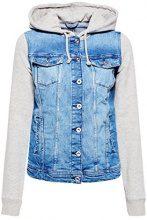 edc by Esprit 028cc1g002, Giacca in Jeans Donna, Blu (Blue Medium Wash 902), X-Small