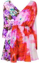MSGM - Miniabito stampato - women - Silk/Polyester - 40, 42, 38 - MULTICOLOUR