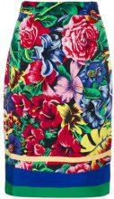 Versus Vintage - Gonna a fiori - women - Polyester/Rayon - 40 - MULTICOLOUR