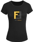 Fendi For 2016 Womens Printed Short Sleeve tops t shirts
