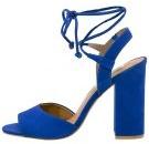 SERRINA - Sandali con i tacchi - blue