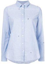 Closed - Camicia a righe - women - Cotton - XL, S, L - BLUE