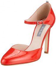 SJP by Sarah Jessica Parker Campbell, Scarpe con Cinturino alla Caviglia Donna, Rosso (COT Red Patent), 38.5 EU