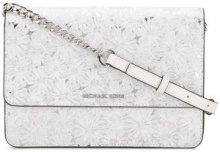 Michael Michael Kors - Borsa a tracolla a fiori - women - Leather/Polyester - OS - Bianco