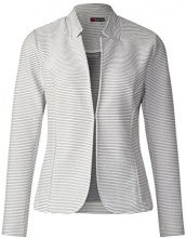 Street One 210696, Giacca Donna, Grigio (off White 20108), 40