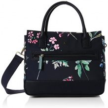 Joules Day To Canvas - Borse a spalla Donna, Blu (Navy Botanical), 16x26x31 cm (W x H L)