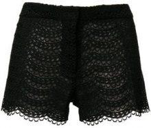 - Giambattista Valli - Shorts con ricamo - women - Polyester/Silk - 42, 40 - Nero