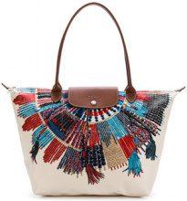 Longchamp - Borsa tote stampata - women - Leather/Polyurethane - OS - NUDE & NEUTRALS
