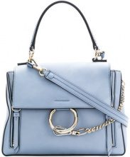 Chloé - medium Faye day bag - women - Calf Leather - One Size - BLUE