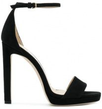 Jimmy Choo - Misty 120 heels - women - Goat Skin/Calf Leather/Goat Suede - 35, 35,5, 36, 36,5, 37, 37,5, 38, 39,5, 40,5, 38,5, 39, 41 - Nero