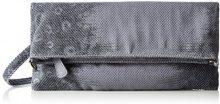 Boscha BO-1245-MT, Pochette Donna, Grigio (Moon Rock), 1x14x29 cm