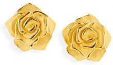 Drachenfels orecchini da donna, argento placcato oro, Rose of Antoine–D ROF 22/AGG
