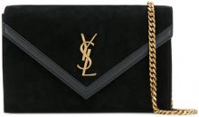 Saint Laurent - Borsa a spalla 'Le Sept' - women - Calf Leather - One Size - Nero