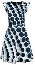 Marc Cain Additions GA 21.18 W84, Vestito Donna, Blu (Midnight Blue 395), 34