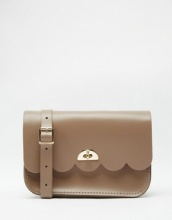 The Cambridge Satchel Company - Borsa in pelle con bordi smerlati e piccole nuvole
