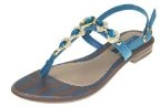 Grendha  JOIA IMPERIAL SD FEM,  Sandali donna brown blue gold