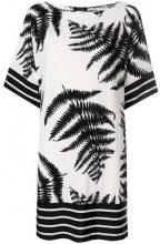 Clips - Vestito t-shirt - women - Viscose/Spandex/Elastane - S - WHITE