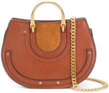 Chloé - Borsa a spalla 'Small Pixie' - women - Calf Leather - One Size - BROWN
