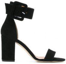 Paris Texas - Sandali con cinturino - women - Calf Suede/Leather - 36, 37.5, 38.5, 37 - BLACK