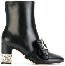 Gucci - Stivaletti alla caviglia - women - Leather - 37, 39.5, 39, 40, 36, 37.5, 38, 38.5 - BLACK