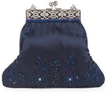 Farfalla 90445, Pochette donna, Blu (blu scuro), taglia unica