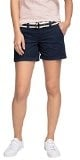 edc by ESPRIT Play Turn-Up mit Gürtel-Shorts Donna