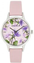 Mike Ellis New York Orologio da polso da donna al quarzo in pelle la Fleur SL4310 C8