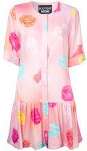 Boutique Moschino - floral print dress - women - Cotone/Rayon - 42, 46 - Rosa & viola