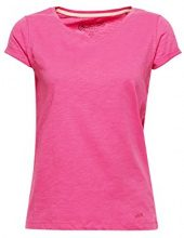 edc by Esprit 028cc1k061, T-Shirt Donna, Rosa (Pink 670), Large