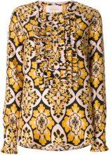 La Doublej - Camicia 'Palazzo' - women - Silk - S, M, L, XL - YELLOW & ORANGE