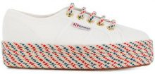 Superga - Sneakers con suola in corda - women - Cotton/rubber - 36, 38, 39 - WHITE