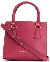 L'Autre Chose - Borsa tote con logo - women - Calf Leather/Polyester/Polyamide - OS - PINK & PURPLE