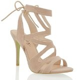 Essex Glam Sandalo Donna Tacco a Spillo Cut-Out