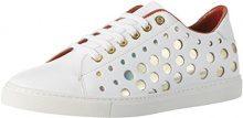 Liebeskind Berlin LF173310 Calf, Sneaker Donna, Bianco (Ivory White), 39 EU