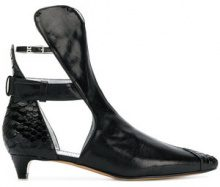 Givenchy - Stivali con cut-out - women - Leather - 36, 37, 38, 39, 40, 36.5, 37.5 - BLACK