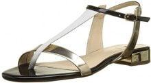 Högl 5-10 1111 7599, Sandali con Cinturino alla Caviglia Donna, Multicolore (Platin/Multi), 35 EU