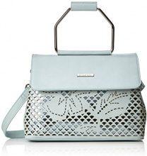 Bulaggi Tzabar Handbag - Borse a secchiello Donna, Blau (Pastel Blau), 12x21x28 cm (B x H T)