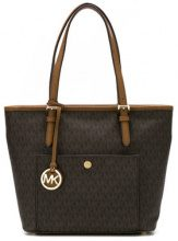 Michael Michael Kors - Borsa tote 'Jet Set' medium - women - Leather - OS - BROWN