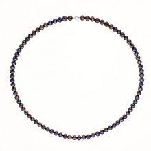 Pearls & Colors PC-CMC07 Collana di perle d'acqua dolce a più fili, con chiusura in argento 925, lunghezza 42 cm