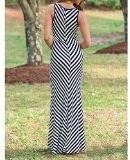 Bellezza Donna Vestiti a Righe Ragazza Senza Maniche Pizzo Vestito Abito da Maxi Spiaggia Estate