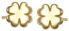 Alex Woo Orecchini a Perno da Donna Oro Giallo 14 carati